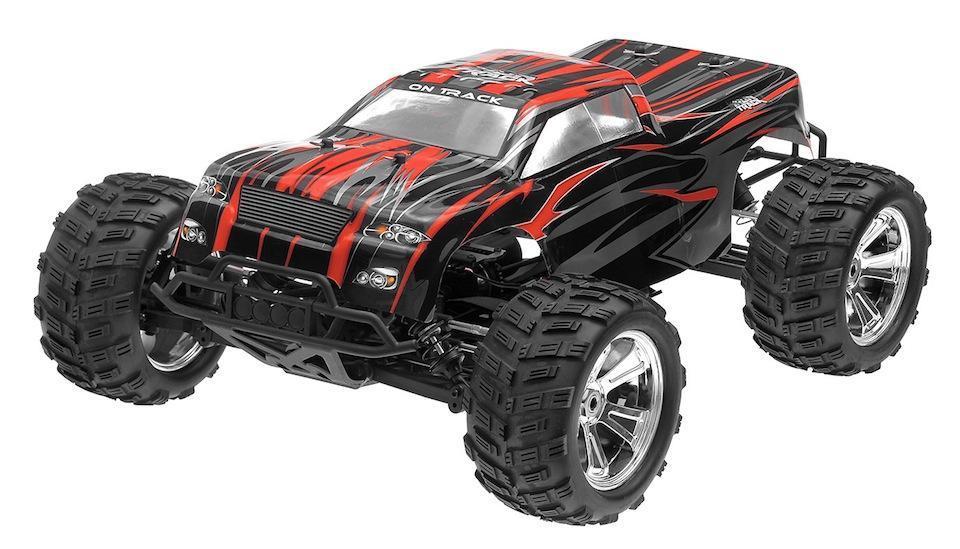 Радиоуправляемая модель Монстр 1:8 Himoto Raider MegaE8MTL Brushless (красный) - Радиоуправляемые игрушки