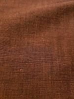 Тонкая коричневая глянцевая ткань (шир. 335 см), фото 1