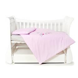 Сменная постель Twins Evo Miu 3 эл розовый