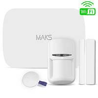 Комплект беспроводной охранной сигнализации MAKS PRO WiFi S