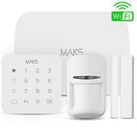 Комплект беспроводной охранной сигнализации MAKS PRO WiFi