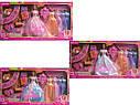 Кукла Defa Дефа с нарядом - кукла 29 см, 5 платьев, питомец 6073, фото 2