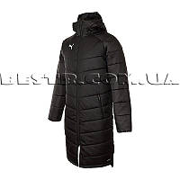 Куртка пальто Puma Liga Sideline Bench Jacket Long 655299-03 (Оригинал)