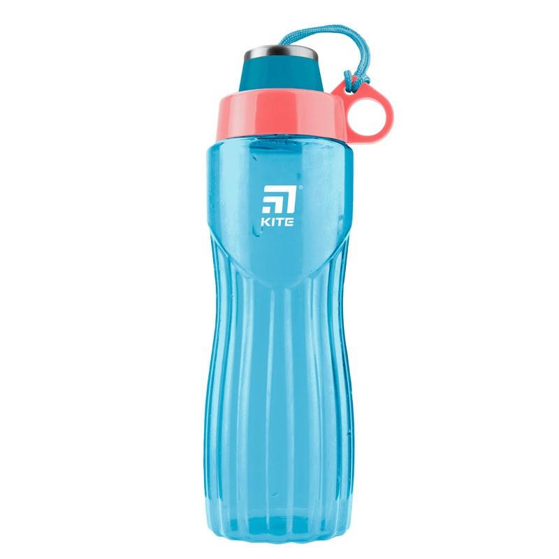 """Пляшка для напоїв пласт. """"Kite"""" 800мл бірюзова №K20-396-02"""
