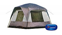 Беседка шатер палатка туристическая Lanyu 1918 для 10-ти человек. Д=3 м, Ш=3 м, В=2.2 м