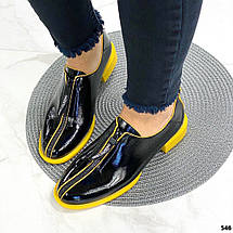 Лаковые туфли на молнии спереди 546 (ТМ), фото 3