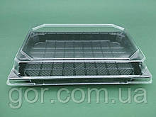 Упаковка для суші ПС-64Д 20,5*13,5 разом з кришкою ПС64К (50 шт)