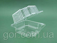 Контейнер пластиковий з відкидною кришкою V500мл ПС-8 110*105*58 (50 шт)