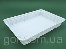 Упаковка для суші ПС-61 Біла 27,5*19,5*40 (50 шт)