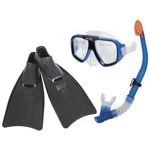 Набор для плавания Intex 55957 (Ласты 38-40) Reef Rider Sports Set