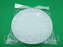 """Тарелка большая 1 секция (10шт) ТМ """"Супер торба"""" (1 пач) набор одноразовой посуды для пикника"""