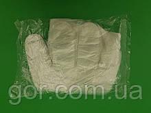 Поліетиленові Одноразові рукавички (100шт) без кріплення) (1 пач.)