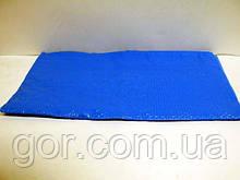 Скатертина поліетиленова одноразова (120x200) синя (1 шт)