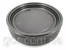 Тарелка  одноразовая пластиковая  220 мл Черная (50 шт) мелкая (не глубокая) для второго блюда