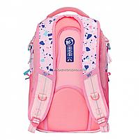 Рюкзак молодіжний YES T-59 Level Up рожевий (558350), фото 3