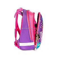 Рюкзак школьный каркасный YES H -12 Flamingo (558017), фото 2