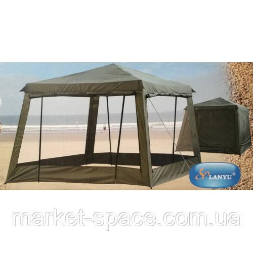 Беседка шатер палатка туристическая Lanyu 1628D (320x320x245см)