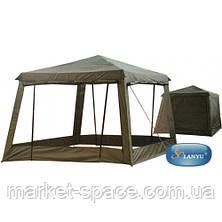 Беседка шатер палатка туристическая Lanyu 1628D (320x320x245см), фото 2