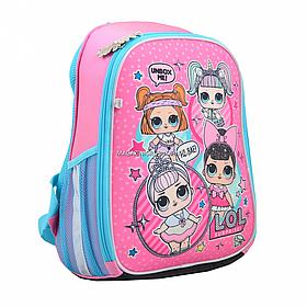 Рюкзак школьный каркасный H-27 LOL Sweety Розовый (558099)