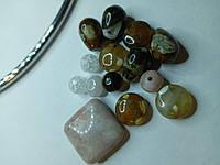 Бусина из натурального камня, набор для рукоделия (1)