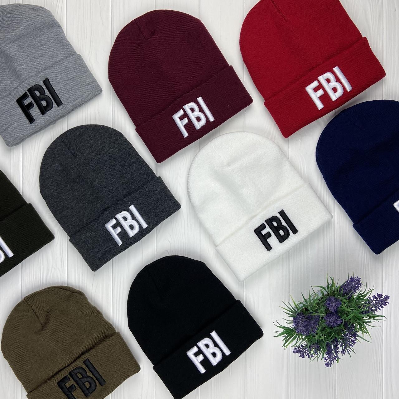 """Шапка лопата """"FBI"""""""