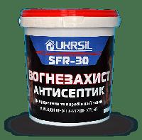Огнебиозащитная пропитка для дерева Ukrsil SFR-30 бесцветный 10 л