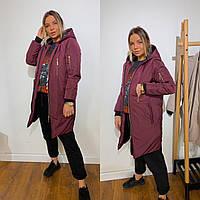 Куртка женская демисезонная удлиненная разные цвета Gv120