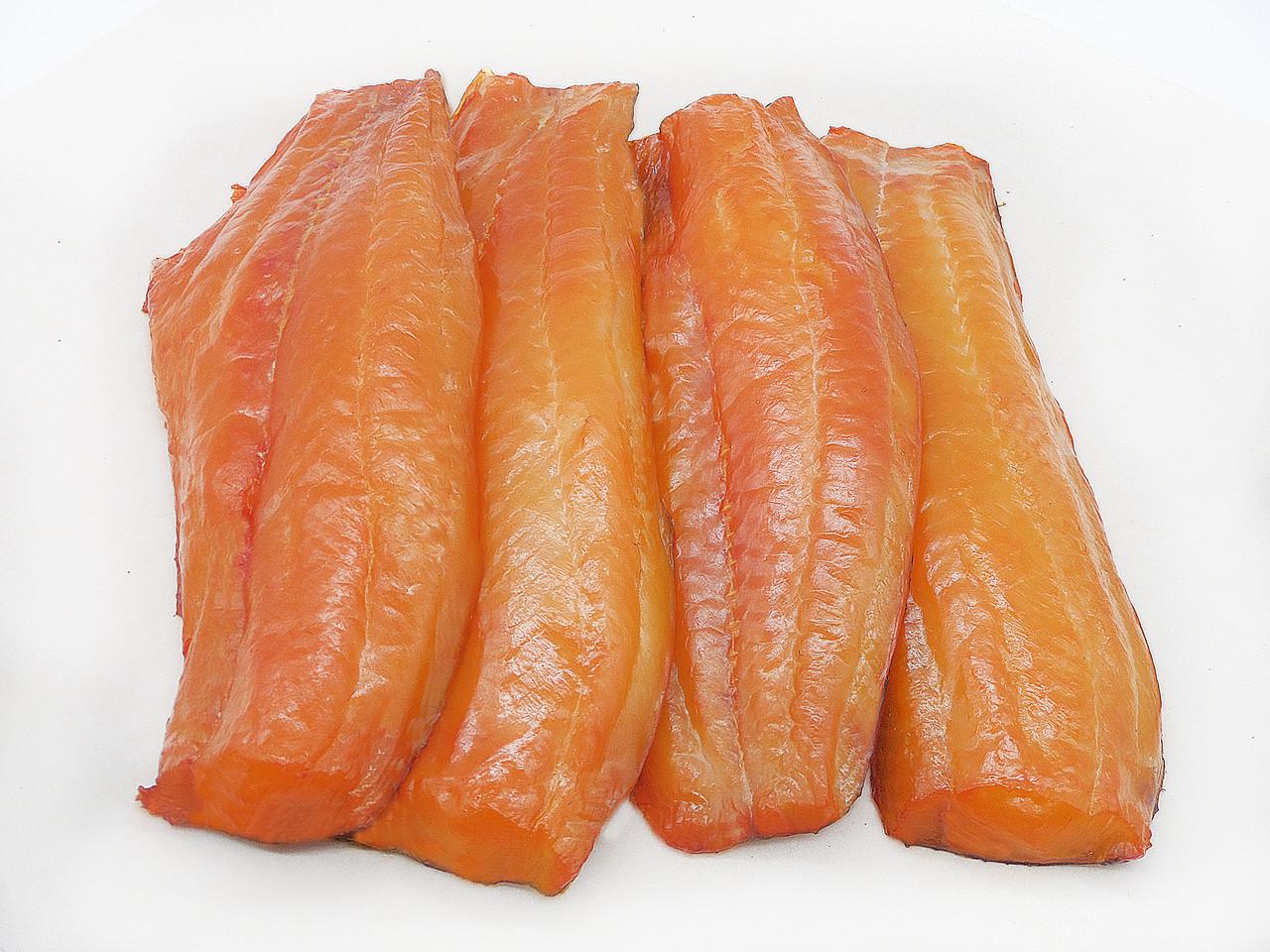Толстолобик холодного копчения филе, гофротара 4-5 кг; 5-7 кг