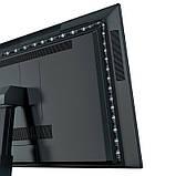 Светодиодная лента RGB Baseus USB Colorful Electronic Sports Game Light Strip, черная, фото 5