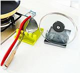 Подставка-держатель для кухонной утвари 7241, белая, фото 4
