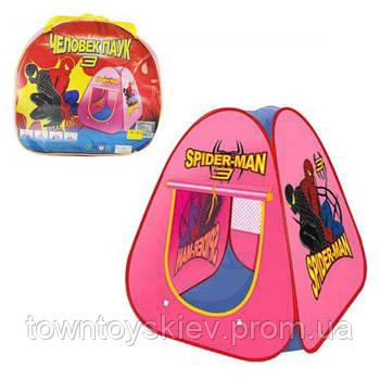 Детская игровая палатка Человек Паук 889-75B в сумке
