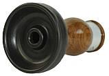 Чаша RS Flex Wood Темно-серый матовый верх, дерево - орех, фото 2