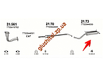 Глушник Рено Меган / Рено Сценік I (Renault Megane / Renault Scenic I) 2.0 i kat 16V (21.73) Polmostrow