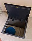 Напольный люк под плитку 600*1000 мм Вest Lift -Утепленный / люк в погреб/ люк в подвал, фото 2