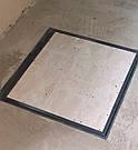 Напольный люк под плитку 800*800 мм Вest Lift -Утепленный / люк в погреб/ люк в подвал, фото 3