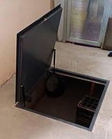 Напольный люк под плитку 600*1300 мм Вest Lift -Утепленный / люк в погреб/ люк в подвал
