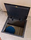 Напольный люк под плитку 700*1200 мм Вest Lift -Утепленный / люк в погреб/ люк в подвал, фото 2