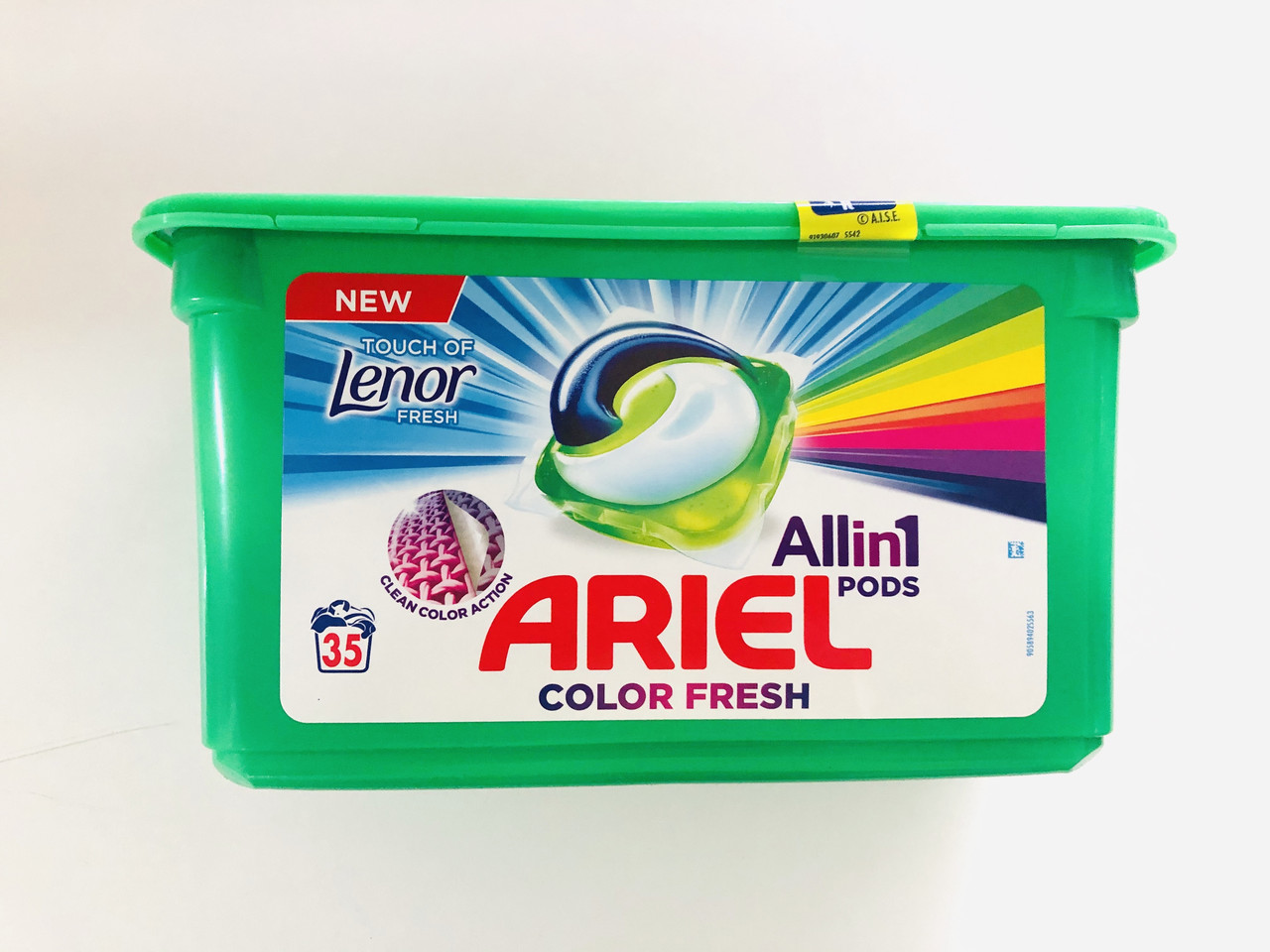 Капсулы для стирки Ariel touch of Lenor All in 1 , 35 шт