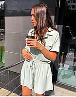 Жіночий костюм ,стильний високої якості з тканини софт (42-48), фото 1