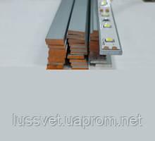 Алюминиевая полоса для светодиодной ленты 10х2мм