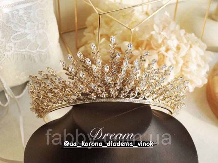 VIP Люкс якість з ювелірними діамантами цирконами (6,5см)