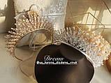 VIP Люкс якість з ювелірними діамантами цирконами (6,5см), фото 3
