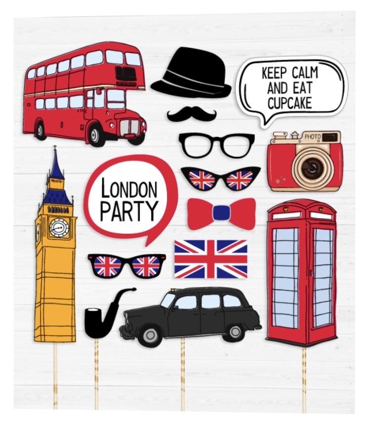 """Набор аксессуаров для фотосессии """"Лондон"""""""
