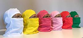 Балаклава трикотажна NINJA рожева за ціною виробника