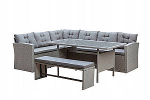 Комплект мебели из техноротанга Fabia