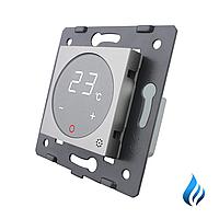 Механизм терморегулятор Livolo для водяных систем отопления серый (VL-C7-01TM3-15)