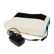 Подушка массажная для спины и шеи роликовая Magic Pillow - массажная подушка с подогревом