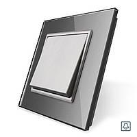 Клавишная кнопка Livolo серый (VL-C7K1H-15)