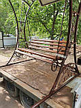 Садовые качели кованые Classic, фото 2