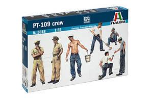 Экипаж торпедного катера. Набор пластиковых фигурок в масштабе 1/35. ITALERI 5618